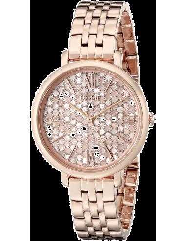 Chic Time | Montre Femme Fossil Jacqueline ES3804 Or Rose  | Prix : 159,00€