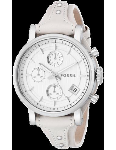 Chic Time | Montre Femme Fossil Original Boyfriend ES3811 Blanc  | Prix : 119,00€