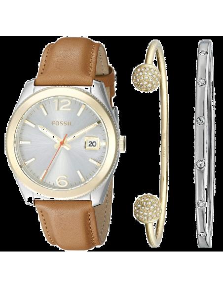 Chic Time | Montre Femme Fossil Perfect Boyfriend ES3771SET Marron  | Prix : 229,00€