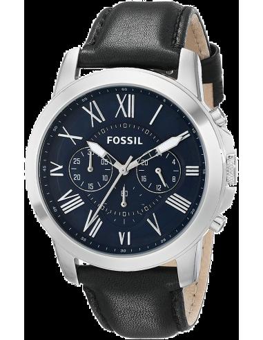 Chic Time   Montre Homme Fossil Grant FS4990 Noir    Prix : 126,65€