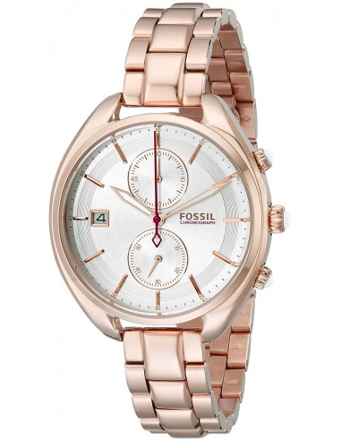 Chic Time | Montre Femme Fossil CH2977 Or Rose Bracelet acier  | Prix : 122,85€