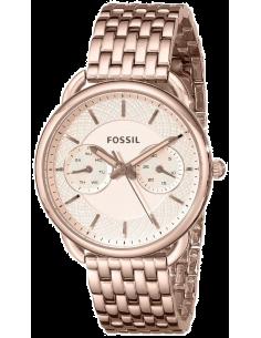 Chic Time | Montre Femme Fossil Tailor ES3713 Maillons fins couleur or rose et finition polie  | Prix : 164,25€