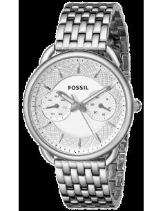 Chic Time | Montre Fossil Tailor ES3712 Bracelet de maillons fins argentés  | Prix : 90,30€
