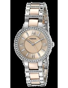 Chic Time | Montre Femme Fossil Virginia ES3405 Bracelet en acier bicolore  | Prix : 139,00€