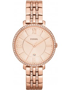 Chic Time | Montre Femme Fossil Jacqueline ES3546 Or rose intégrale  | Prix : 169,00€