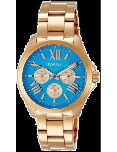 Chic Time | Montre Fossil Cecile AM4556 Bracelet en acier or rose  | Prix : 111,30€