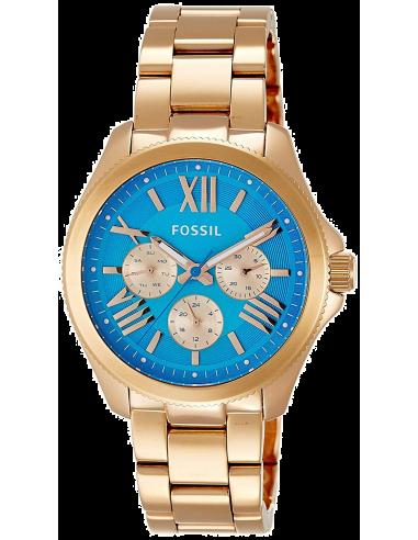 Chic Time | Montre Fossil Cecile AM4556 Bracelet en acier or rose  | Prix : 103,35€
