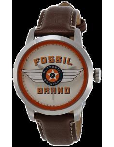Chic Time | Montre Homme Fossil Townsman FS4896 Edition spéciale 30 ans Bracelet en cuir marron  | Prix : 119,20€