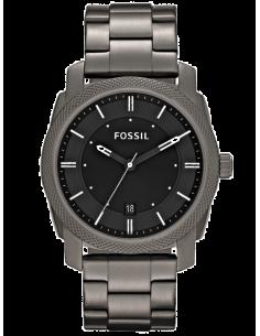 Chic Time | Montre Homme Fossil Machine FS4774 Bracelet en acier anthracite  | Prix : 143,20€