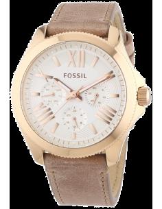 Chic Time | Montre Femme Fossil Cécile AM4532 Bracelet en cuir couleur sable  | Prix : 159,00€