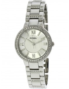 Chic Time | Montre Femme Fossil Virginia ES3282 Argent  | Prix : 149,90€