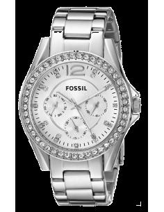 Chic Time | Montre Femme Fossil Riley ES3202 Argent  | Prix : 127,20€
