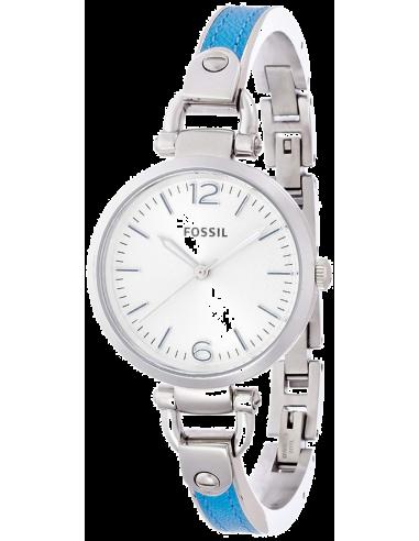 Chic Time | Montre Femme Fossil ES3255 Georgia Bleue  | Prix : 109,90€