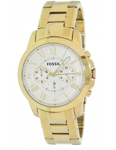 Chic Time | Montre Homme Fossil Grant FS4814 Or  | Prix : 99,45€