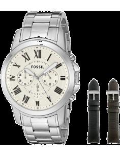 Chic Time | Montre Homme Fossil Grant FS5123SET Argent  | Prix : 319,20€