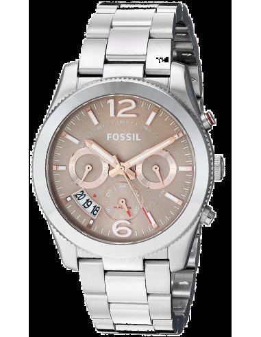 Chic Time | Montre Femme Fossil Perfect Boyfriend ES4146 Argent  | Prix : 149,00€