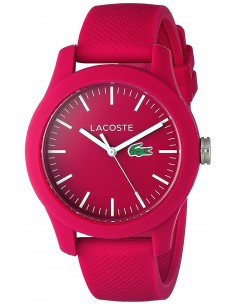 Chic Time | Montre Lacoste Poloshirt 2000957 Silicone Rose  | Prix : 94,50 €