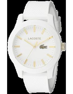 Chic Time   Montre Homme Lacoste 2010819 Blanc    Prix : 129,35€