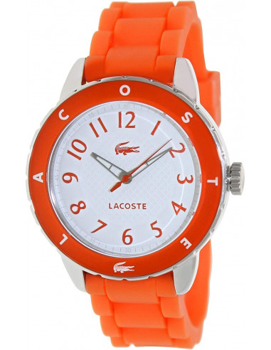 Chic Time   Montre Femme Lacoste 2000747 Orange    Prix : 159,00€