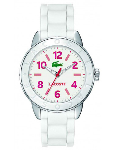 Chic Time | Montre Femme Lacoste 2000848 Blanc  | Prix : 149,00€