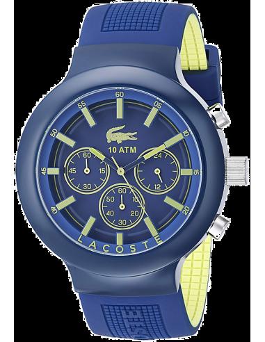 Chic Time | Montre Homme Lacoste Bornéo 2010797 Bleu  | Prix : 209,00€