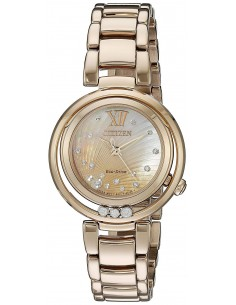 Chic Time | Montre Femme Citizen EM0323-51N Or Rose  | Prix : 653,40 €