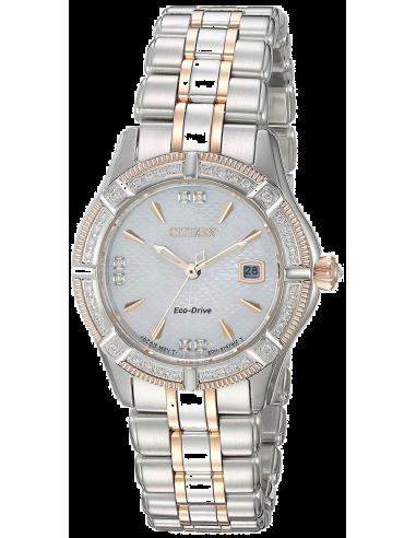 Chic Time | Montre Femme Citizen EW2276-80D Argent  | Prix : 1,907.40