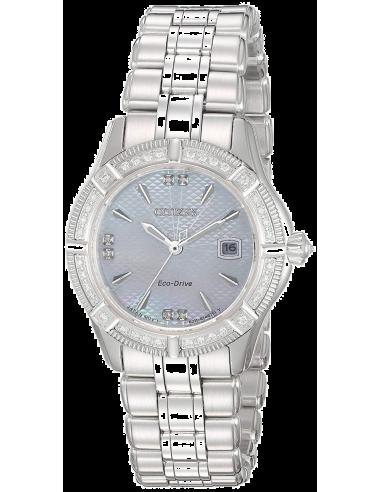 Chic Time | Montre Femme Citizen EW2270-86D Argent  | Prix : 1,751.40