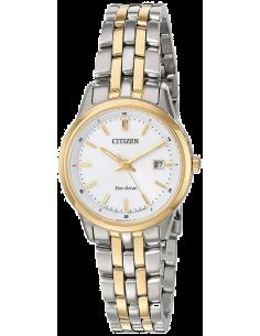 Chic Time   Montre Femme Citizen EW2404-57A Argent et Or    Prix : 335,40€