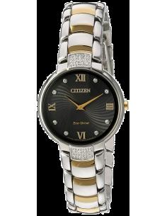 Chic Time   Montre Femme Citizen EX1464-54E Argent et Or    Prix : 407,40€