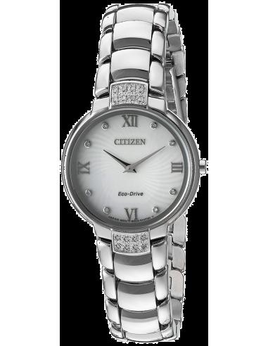 Chic Time | Montre Femme Citizen EX1460-55A Argent  | Prix : 245,40€