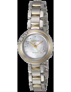 Chic Time | Montre Femme Citizen EM0464-59D Argent et Or  | Prix : 425,40€