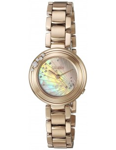 Chic Time | Montre Femme Citizen EM0463-51Y Or Rose  | Prix : 347,40 €
