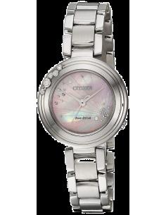 Chic Time | Montre Femme Citizen EM0460-50N Argent  | Prix : 389,40€