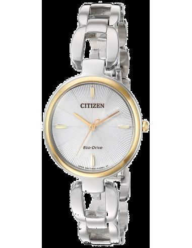 Chic Time   Montre Femme Citizen EM0424-53A Argent    Prix : 259,00€