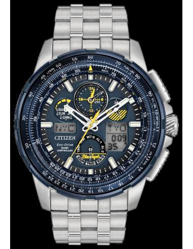 Chic Time   Montre Citizen Eco-Drive Skyhawk JY8058-50L Argent    Prix : 643,30€