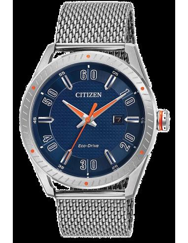 Chic Time | Montre Homme Citizen Eco-Drive BM6990-55L Argent  | Prix : 244,30€