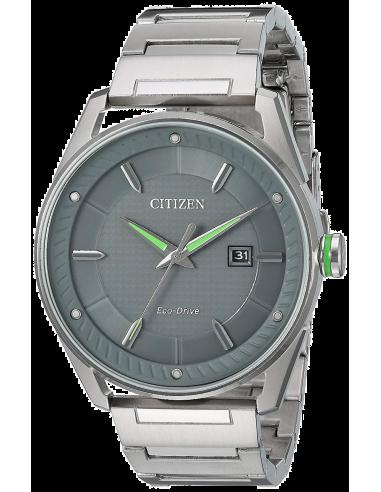 Chic Time   Montre Homme Citizen BM6980-59H Argent    Prix : 259,35€