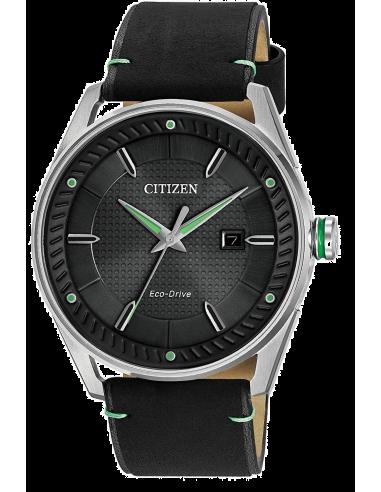Chic Time | Montre Homme Citizen Eco-Drive BM6980-08E Noir  | Prix : 251,30€