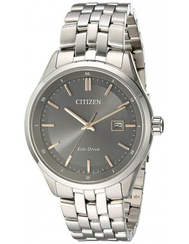 Chic Time   Montre Citizen Eco-Drive BM7251-53H Argent    Prix : 202,30€
