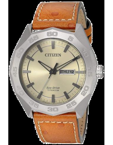 Chic Time | Montre Homme Citizen AW0060-11P Marron  | Prix : 389,35€