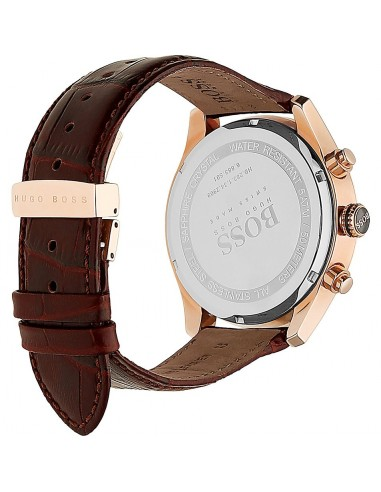 Chic Time | Montre Homme Hugo Boss Swiss Made 1513396 Marron  | Prix : 679,20 €