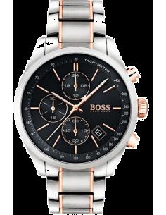 Chic Time | Montre Homme Hugo Boss Grand Prix 1513473 Argent bracelet  | Prix : 399,20€