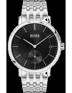 Chic Time   Montre Homme Hugo Boss Corporal 1513641 Argent    Prix : 251,10€