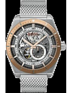 Chic Time | Montre Homme Hugo Boss Signature 1513657 automatique avec argent bracelet en mesh  | Prix : 519,20€