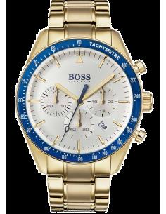 Chic Time | Montre Homme Hugo Boss Trophy 1513631 Bracelet acier doré  | Prix : 287,40€