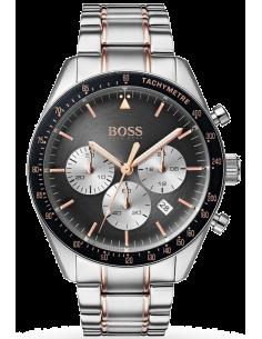 Chic Time   Montre Homme Hugo Boss Trophy 1513634 Bracelet Bi-Ton    Prix : 257,40€