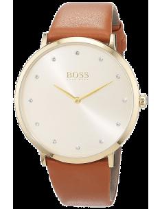 Chic Time | Montre Femme Hugo Boss Jillian 1502411 Marron  | Prix : 191,20€