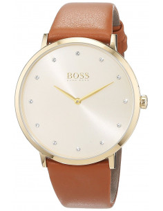 Chic Time | Montre Femme Hugo Boss Jillian 1502411 Marron  | Prix : 191,20 €