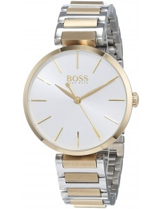 Chic Time | Montre Femme Hugo Boss Allusion 1502417 Or et Argent  | Prix : 329,00€